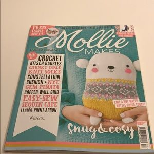 MOLLIE MAKES #87 Printed in the UK, snug & cosy.